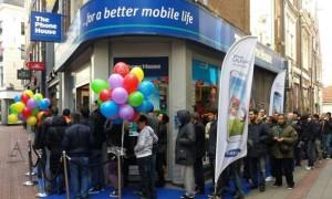 Samsung Galaxy S4 trekt veel aandacht op lanceringsdag