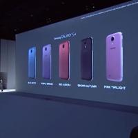 Nieuwe uitvoeringen van de Galaxy S4!