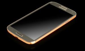 Galaxy S4 met een gouden randje